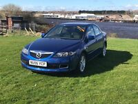 Mazda 6, Diesel 2.0 TS 4 door saloon. Full m.o.t, and 6 month extendable Warranty.