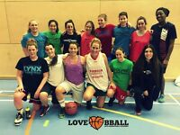 NEW WOMEN'S BASKETBALL SESSION IN LONDON