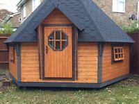 25 seater BBQ hut