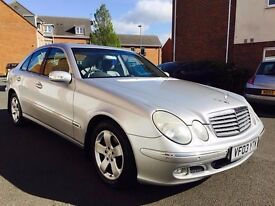 2003 03 Mercedes Benz E Class E220 CDI Auto 135k++Full MOT+Full History+Leather not c270 5 series