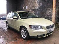 2007 56 Volvo V50 Estate 2.0 Diesel++95,000 Low Miles++Satnav++Full MOT not vectra v70 s40 d5