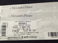 Underworld ticket x 1 - Friday 17 March London