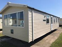 Swift Burgundy 35 x 12ft / 3 bedroom / Double glazing / 2017 site fee's included (North Wales Coast)