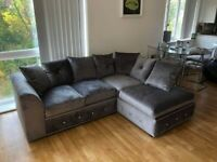 SALE OFFER AVAILABLE ON ALL NEW PLUSH VLEVET CORNER & 3+2 SEATER SOFA SET AVAILABLE IN STOCK