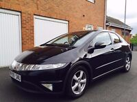 2009 09 Honda Civic 2.2 CTDI 5dr++150k++FSH++11 Stamps++Pan Roof+ not golf 1.9 tdi a3 vw 2.0 corolla