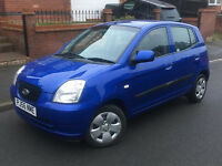 2006*KIA PICANTO ZAPP 1.1 PETROL*5 MONTHS MOT*ONLY 74000 MILES*AIR CON*SERVICE HISTORY