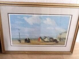 Painting of a Beach Scene