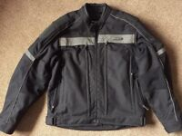 Harley Davidson FXRG textile Jacket. Size Large