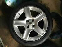 """Peugeot 307 206 GTI 17"""" alloy wheels"""