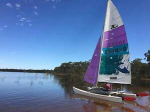Hobie 16 surfcat catamaran ready to sail with extras! Lancefield Macedon Ranges Preview