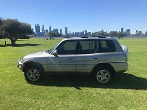 1998 Toyota RAV4 Wagon - LONG REGO - Manual - Roof rack - Air con Como South Perth Area Preview
