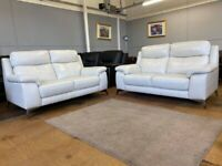 Furniture village real leather sofas