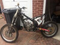 KAWASAKI KDX 250 off road bike spare or repair