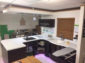 Modern Gloss Avant Ebony Kitchen