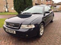 **2000 Audi A4 1.9 Tdi SE In Blue - 5 Speed Manual Diesel Saloon - Cheap Car - 12 Months Mot**