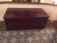 Solid Oak Storage Coffee Table John Lewis