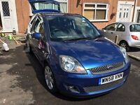 Ford Fiesta Zetec Blue 1.4 MK6 58 Plate 3dr 51k Miles Full Service History - 2008 Special Edition