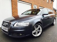 2008 58 Audi A6 Avant S-Line 2.0 TDI++Lthr++FSH++Immaculate++Uprated Alloys not a4 s6 touring 320d