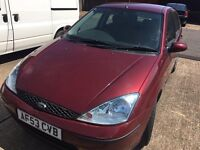 2003 FORD FOCUS LONG MOT 1.6 FULL HISTORY DRIVES NICE