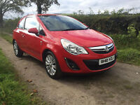 2012 Corsa SE 1.3Cdti Red 3 Door