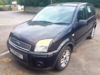 FORD FUSION ZETEC ,SOME HISTORY,RELIABLE,BLACK 09