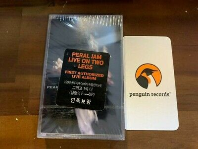 PEARL JAM - Live On Two Legs CASSETTE TAPE KOREA EDITION SEALED