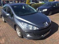 peugeot 308 diesel manuel 1.6 2009 immaculate condition