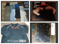 boys clothes 10 years some 10-11 prices on pictures (suit jackets in pics)