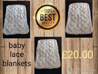 babies lace blankets