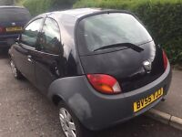 2005 FORD KA 3 DOOR HATCHBACK 1.3CC MOT OCT 55K DRIVES LOVELY