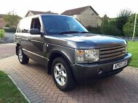 **2002 Land Rover Range Rover L322 3.0 TD6 Automatic - HSE Model - Good Spec - Long Mot - In Grey**