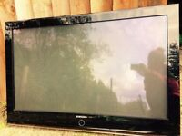 Samsung Television/TV for sale. 105cm W, 69cm H, 9cm thick. good condition. WAS £180 , NOW for £80