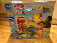VTech Toot Toot Drivers Garage with tow truck