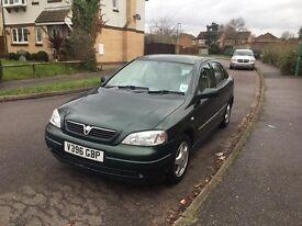 Vauxhall Astra 16cd 1.6 petrol 1999 Green 5dr