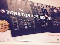 Native Instruments Traktor Kontrol S2 With Traktor software