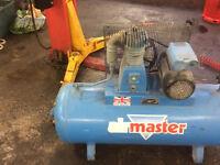 150L Air Compressor (runs off 13ap Plug)