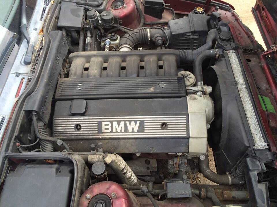 bmw e34 m50 2 5 single vanos full engine package b25 5