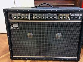 Jc120 - Jazz Chorus - Vintage Amp and flight case