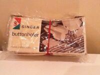 Singer Buttonholer