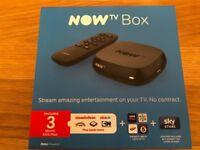 BRAN NEW NOW TV BOX NO PASSES THO