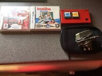 Ds console & 2 game