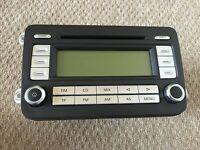 VW Jetta, Golf & Passat 05-10 CD Radio Head Unit RCD 500 for sale