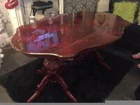 italian inlaid dining table