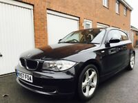 2007 57 BMW 1 Series 118d Sport **Rare 3 Door**FSH**Immaculate+Front & Rear Sensors not a3 1.9 tdi