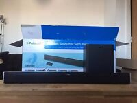 TV Home Cinema Sound Bar & Subwoofer - New and Fully Boxed.
