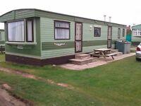 Caravan to let in Tywyn, Mid Wales