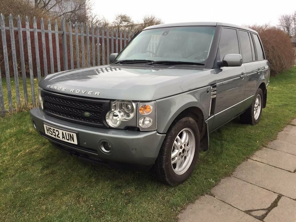 2003 land rover range rover l322 3 0 td6 automatic in green 12 months mot spares or repairs. Black Bedroom Furniture Sets. Home Design Ideas