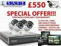 Professional CCTV camera installations