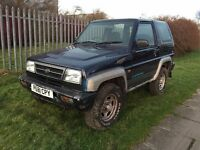 **1996 Daihatsu Sportrak 1.6 Petrol - No Mot Spares Or Repairs 4x4 Not Fourtrak**