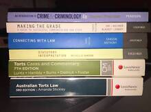 QUT First Year Law/Justice Textbooks Eight Mile Plains Brisbane South West Preview